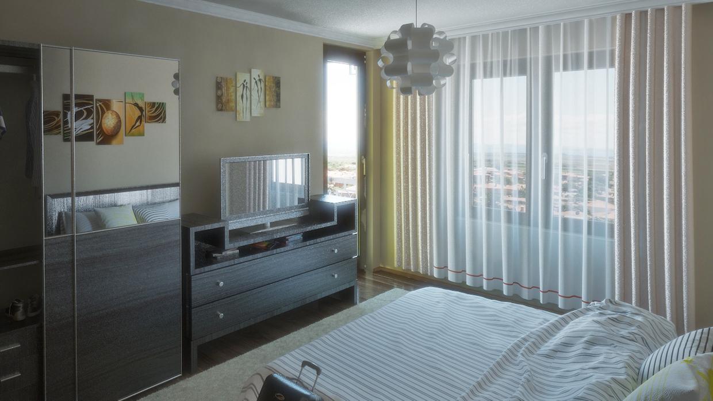 3д Интериор спалня 2